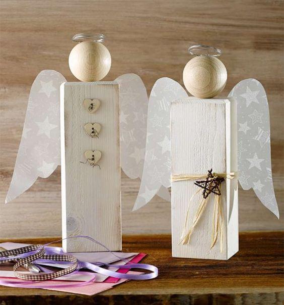 anjos pra decoração de natal